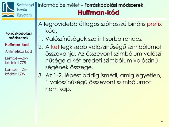 Információelmélet –