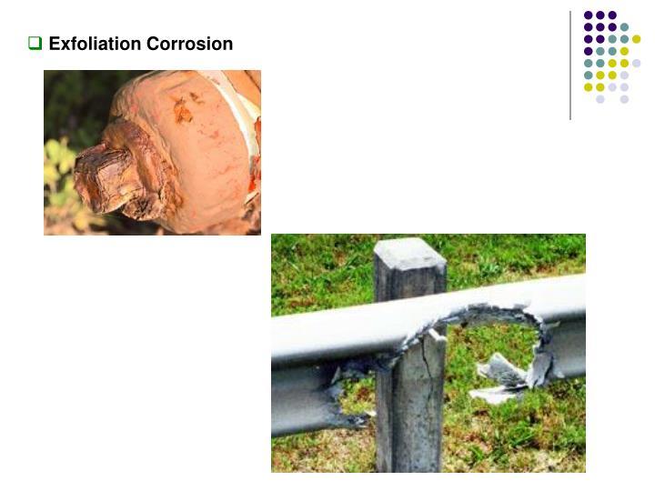 Exfoliation Corrosion