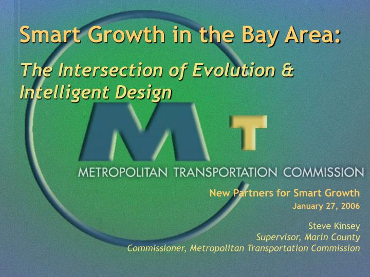 New Partners for Smart Growth