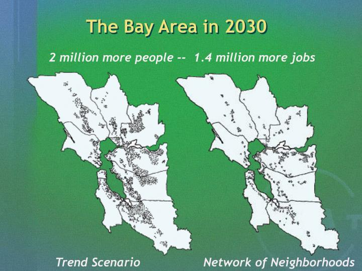 The Bay Area in 2030