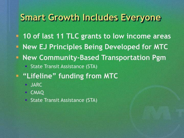 Smart Growth Includes Everyone