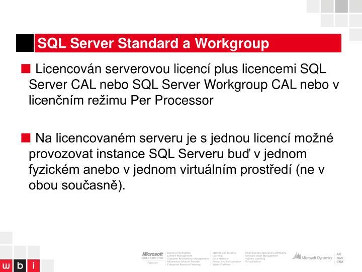 SQL Server Standard a