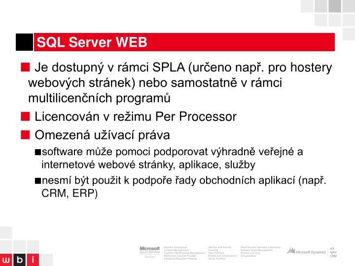SQL Server WEB