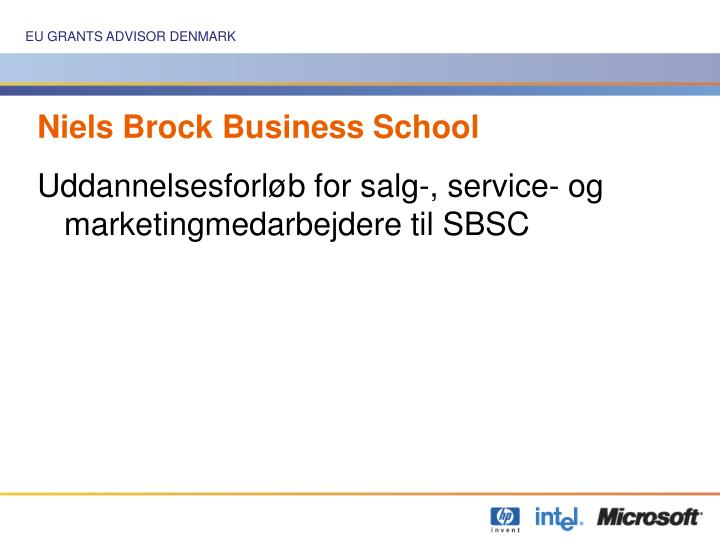 Niels Brock Business School