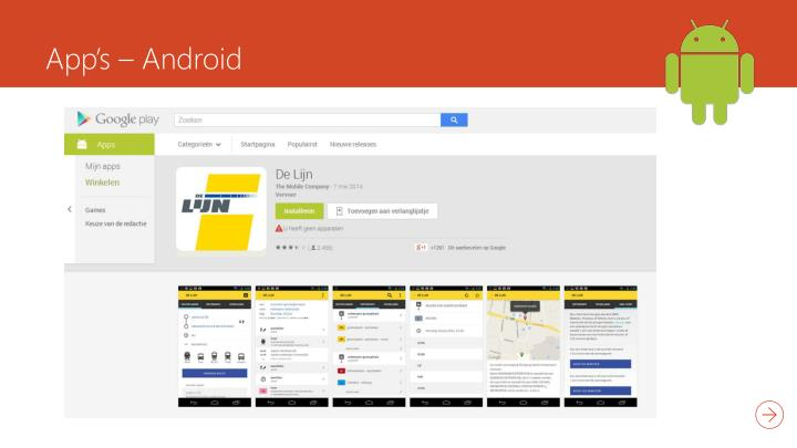 App's – Android