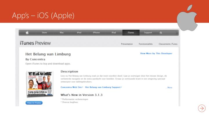 App's –