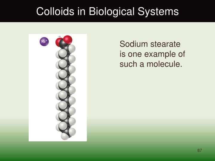 Colloids in Biological Systems