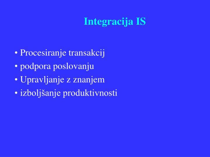 Integracija IS