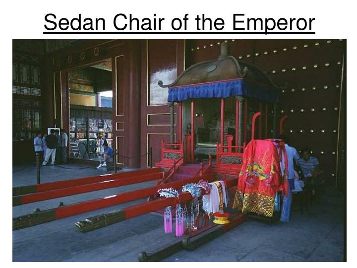 Sedan Chair of the Emperor