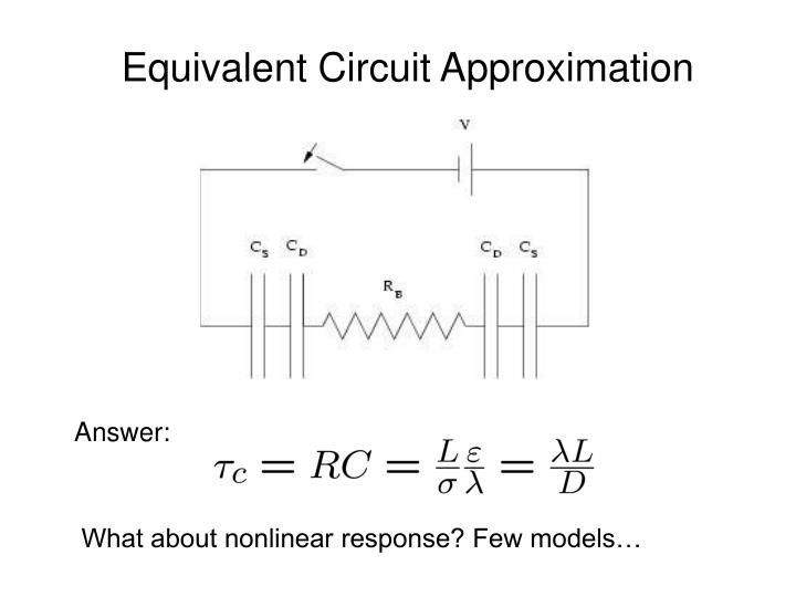 Equivalent Circuit Approximation