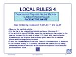 local rules 4