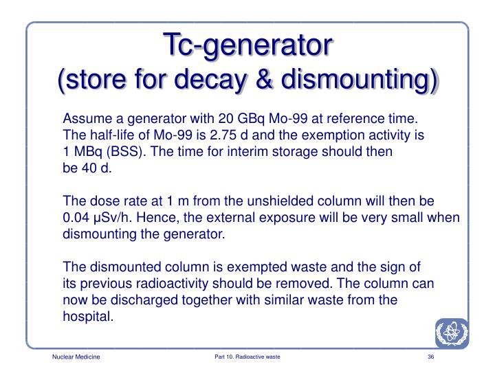 Tc-generator