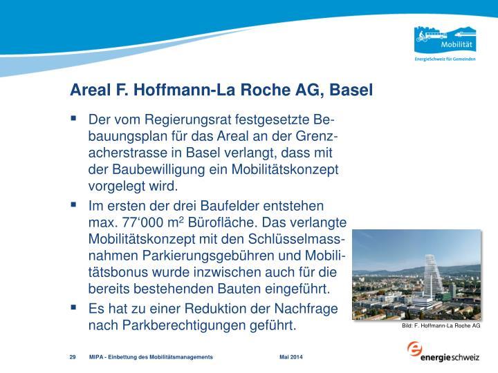 Areal F. Hoffmann-La Roche AG, Basel