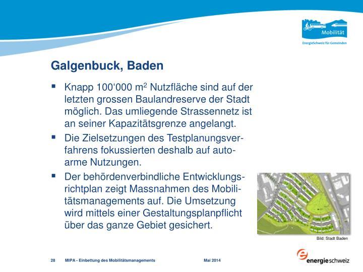 Galgenbuck, Baden