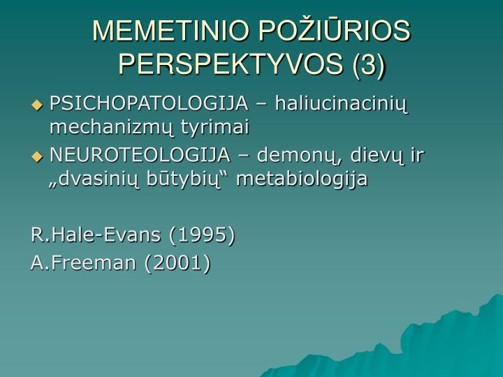 MEMETINIO POŽIŪRIOS PERSPEKTYVOS (3)