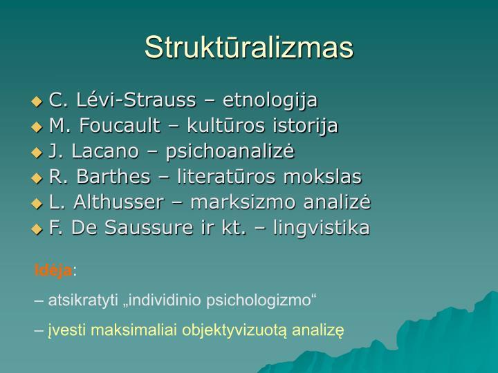 Struktūralizmas