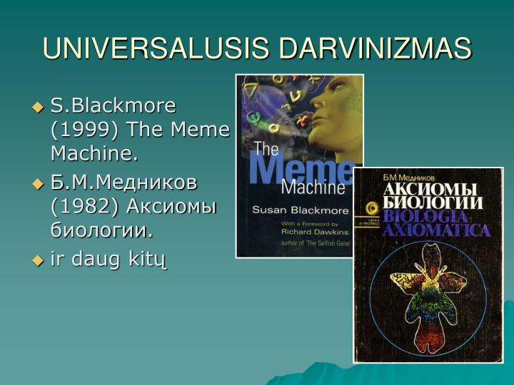UNIVERSALUSIS DARVINIZMAS