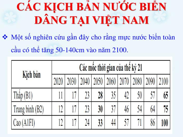 CC KCH BN NC BIN DNG TI VIT NAM