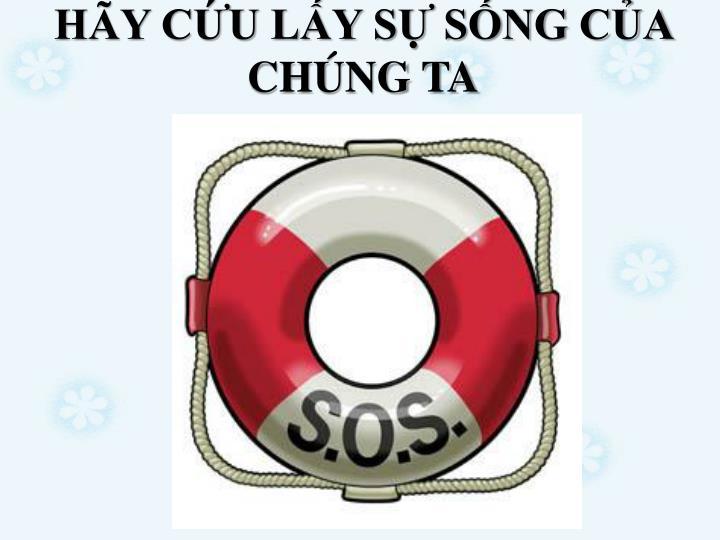 HY CU LY S SNG CA CHNG TA