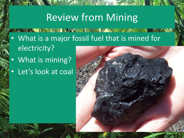 Review from Mining