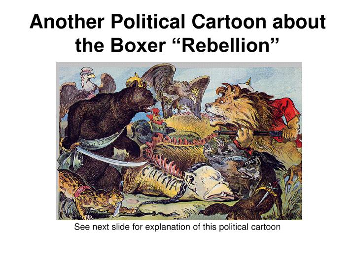 "Another Political Cartoon about the Boxer ""Rebellion"""