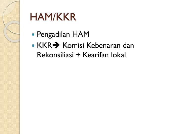 HAM/KKR