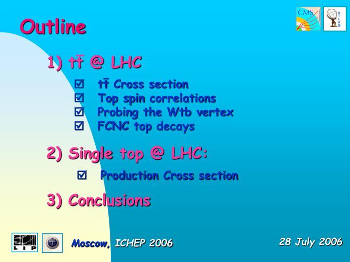 1) tt @ LHC