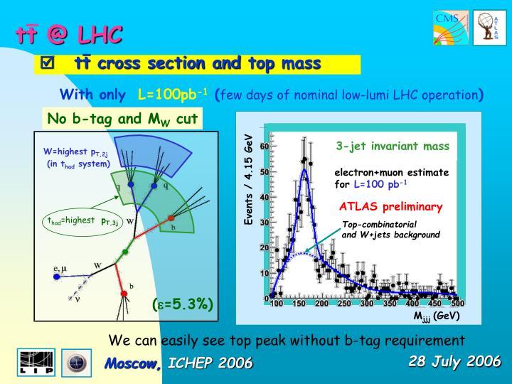 tt @ LHC