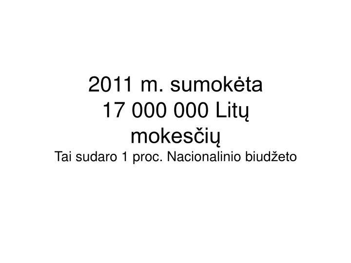 2011 m.