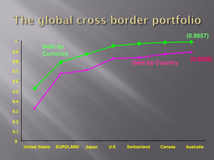 The global cross-border portfolio