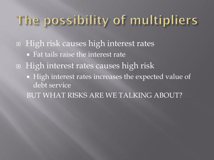 The possibility of multipliers