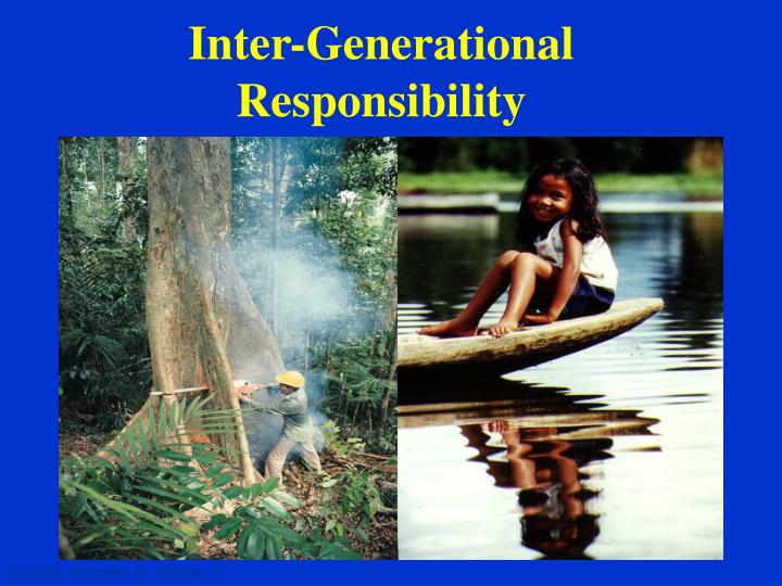 Inter-Generational Responsibility