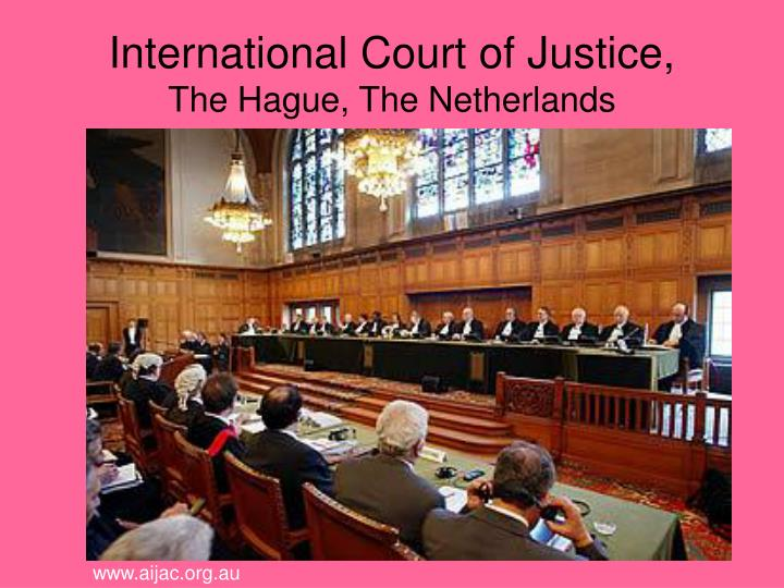 International Court of Justice,