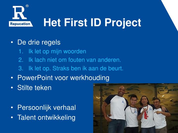 Het First ID Project