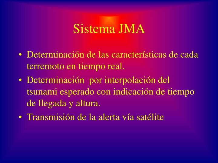 Sistema JMA