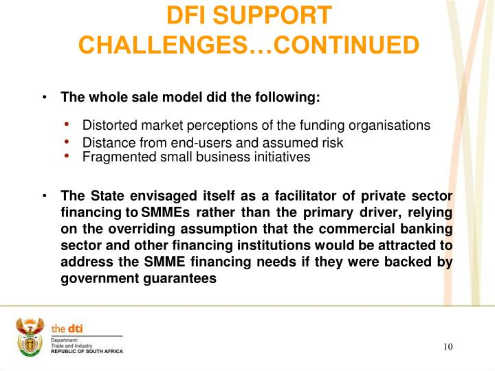 DFI SUPPORT