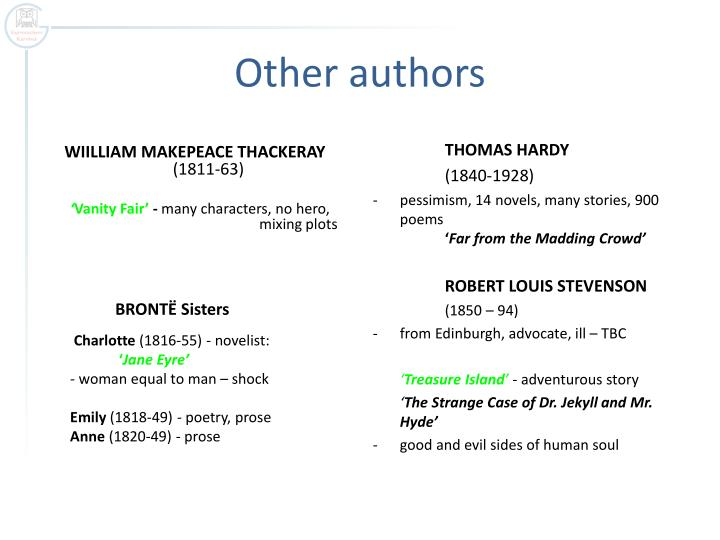 Other authors