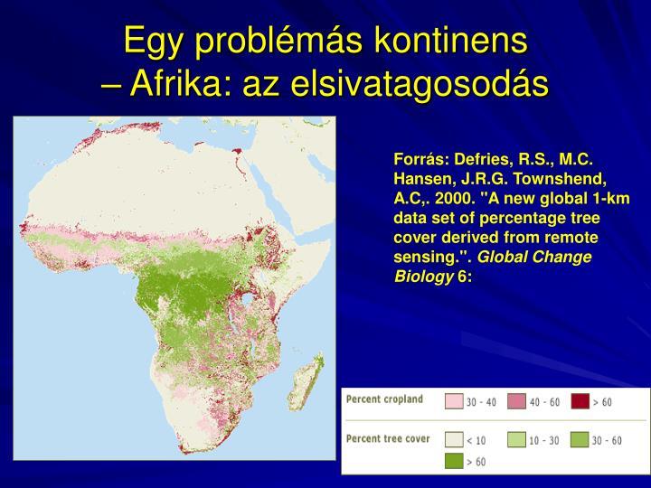 Egy problémás kontinens