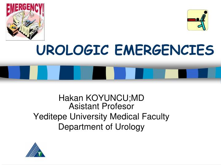 Urologic emergencies