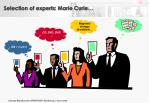 selection of experts marie curie