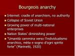 bourgeois anarchy