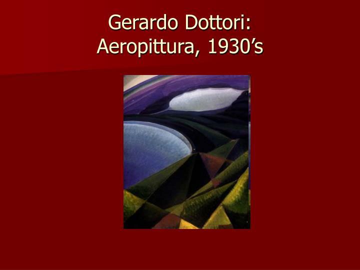 Gerardo Dottori: