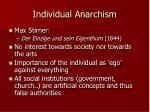 individual anarchism