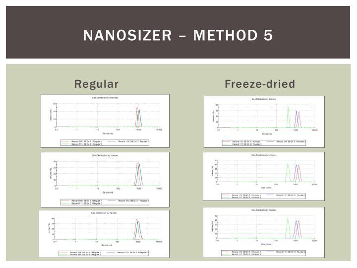 Nanosizer