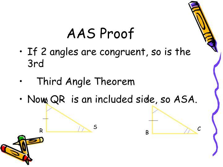 AAS Proof