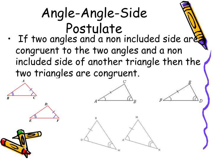 Angle-Angle-Side Postulate