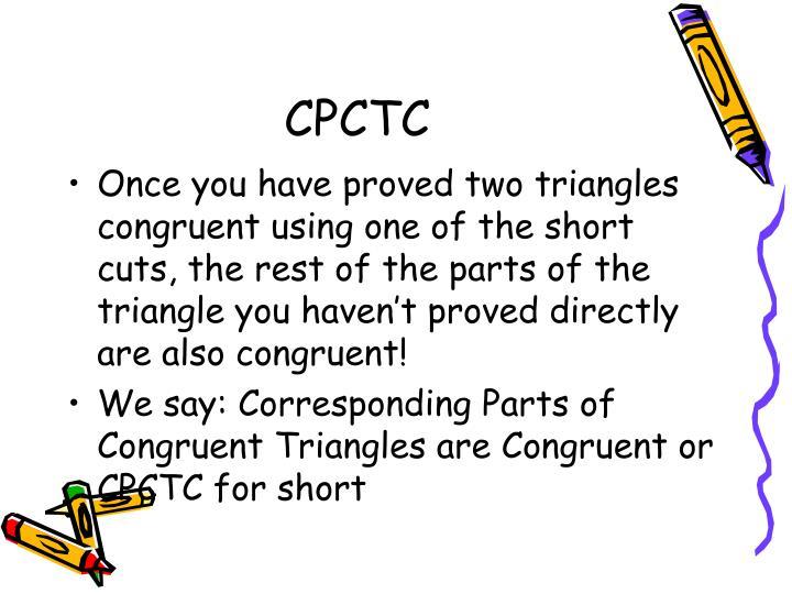 CPCTC