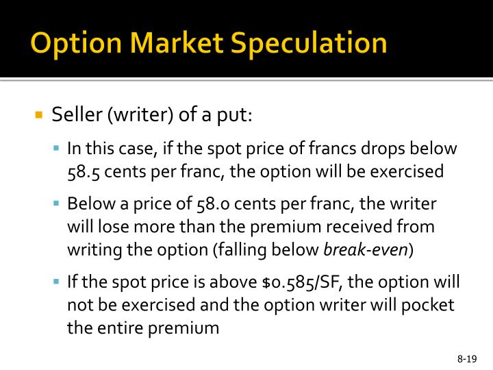 Option Market Speculation