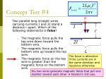 concept test 4