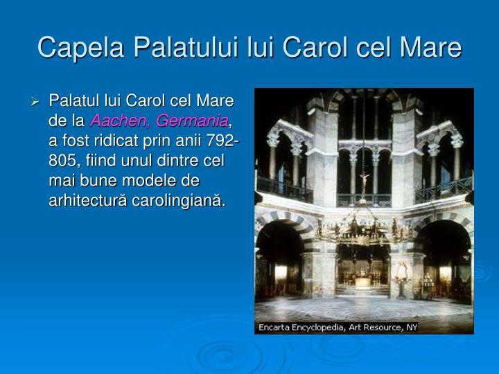 Capela Palatului lui Carol cel Mare